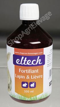 FORTIFIANT LAPIN- LIEVRE   500 ml
