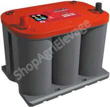 Batterie OPTIMA rouge RTS 3,7L